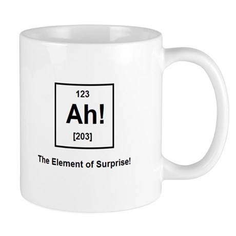 The Element of Surprise Mug