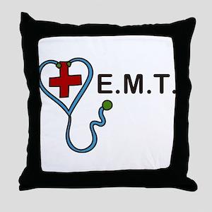 E.M.T. Throw Pillow