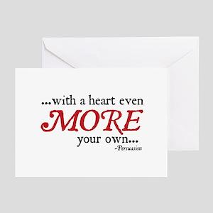 Jane Austen Heart more Cards (Pk of 10)