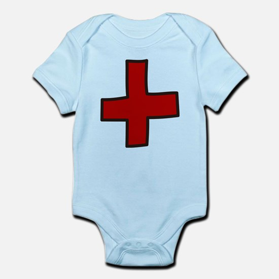 Red Cross Infant Bodysuit