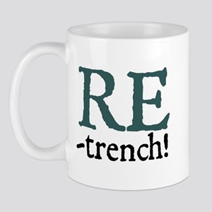 Jane Austen Retrench! Small Mug