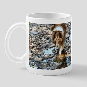 Rough Collie Art Gifts Mug