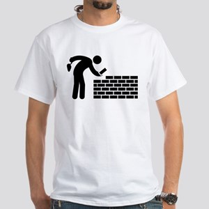 Bricklayer White T-Shirt
