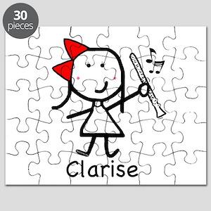 Girl & Clarinet - Clarise Puzzle