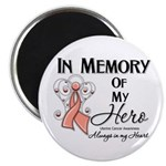 In Memory Uterine Cancer Magnet