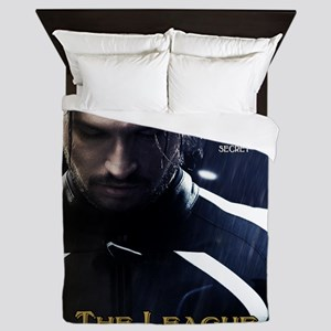League Hero Queen Duvet