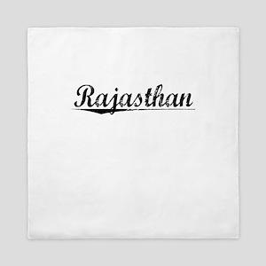 Rajasthan, Aged, Queen Duvet