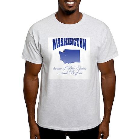 """""""Washington/Bigfoot"""" Ash Grey T-Shirt"""
