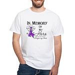 In Memory Pancreatic Cancer White T-Shirt