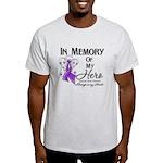 In Memory Pancreatic Cancer Light T-Shirt