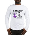 In Memory Pancreatic Cancer Long Sleeve T-Shirt