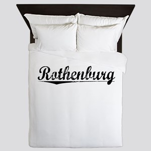 Rothenburg, Aged, Queen Duvet