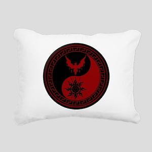 House of Didymos Rectangular Canvas Pillow
