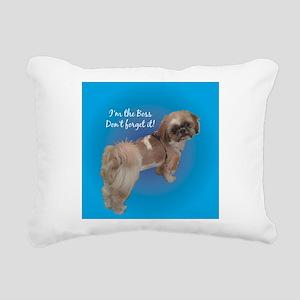 BUDDYLONG1 Rectangular Canvas Pillow