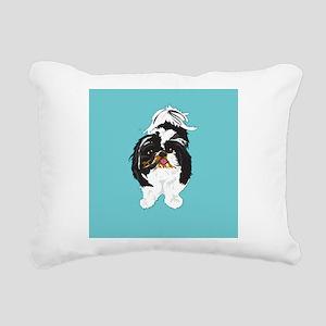 peanutBLUEBACK 1 Rectangular Canvas Pillow