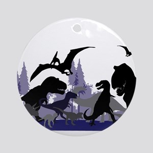 DINOSAUR-MEDLEY Ornament (Round)