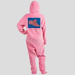 LINDA SIS ART CAFE Footed Pajamas