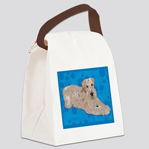 LINDA SIS ART CAFE Canvas Lunch Bag