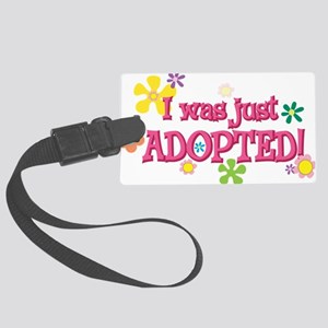 JUSTADOPTED44 Large Luggage Tag