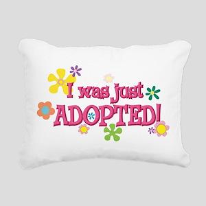 JUSTADOPTED44 Rectangular Canvas Pillow