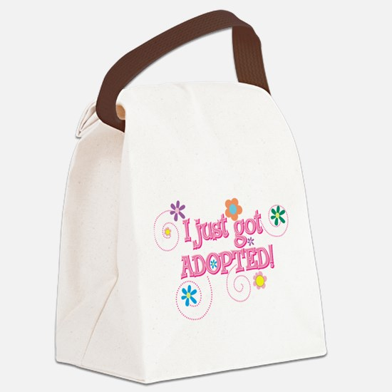 JUSTADOPTED33.png Canvas Lunch Bag