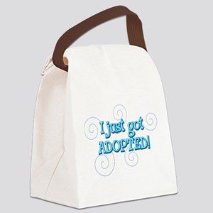JUSTADOPTED22 Canvas Lunch Bag
