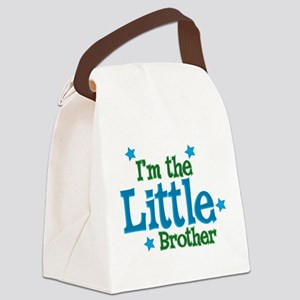 Im the Little Brother Canvas Lunch Bag