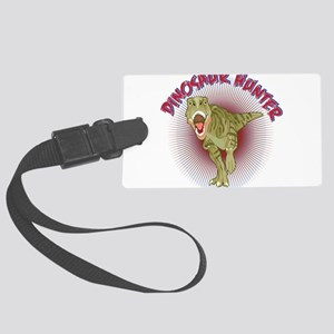 DinoHunter2cafe Large Luggage Tag