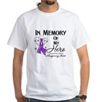 In Memory Leiomyosarcoma White T-Shirt