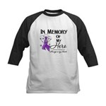 In Memory Leiomyosarcoma Kids Baseball Jersey