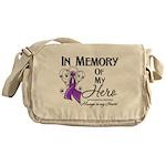 In Memory Leiomyosarcoma Messenger Bag