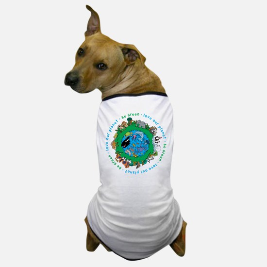 BEGREENLUV.png Dog T-Shirt