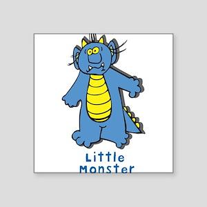 """LittleMonster2 Square Sticker 3"""" x 3"""""""