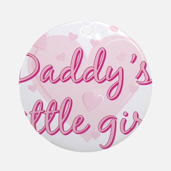 Daddys Little Girl.png Ornament (Round)