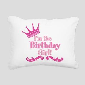 Birthday Girl 2 Rectangular Canvas Pillow