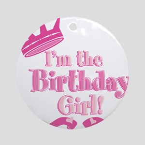 Birthday Girl 2 Ornament (Round)