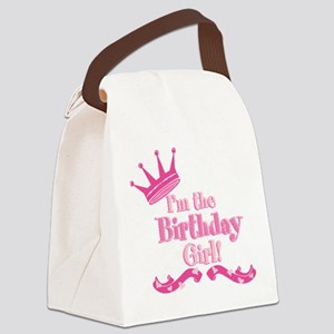 Birthday Girl 2 Canvas Lunch Bag