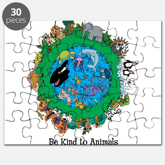 Be Kind To Animals.png Puzzle