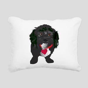 BLACKDOG Rectangular Canvas Pillow