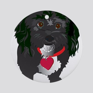 BLACKDOG Ornament (Round)