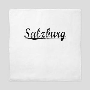 Salzburg, Aged, Queen Duvet
