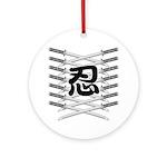 Shinobi2 Ornament (Round)