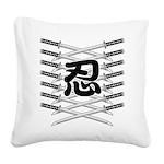 Shinobi2 Square Canvas Pillow