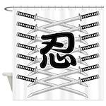Shinobi2 Shower Curtain