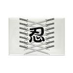 Shinobi2 Rectangle Magnet (100 pack)