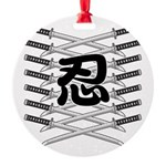 Shinobi2 Round Ornament