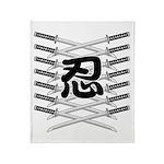Shinobi2 Throw Blanket