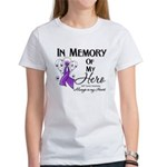 In Memory GIST Cancer Women's T-Shirt