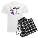 In Memory GIST Cancer Men's Light Pajamas