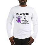 In Memory GIST Cancer Long Sleeve T-Shirt